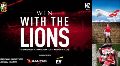WIN WITH THE LIONS
